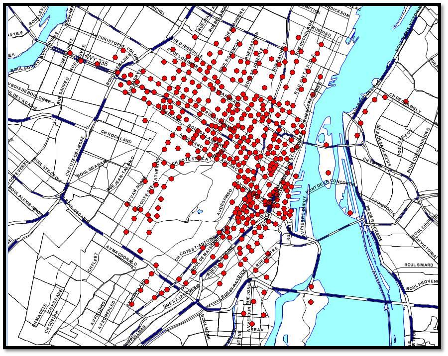 Bixi Montreal Map Tools of Change